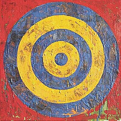 Target - painted by Jasper Johns