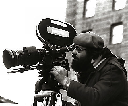 Francis Ford Coppola at the camera