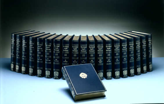 The 20 Volume Oxford English Dictionary