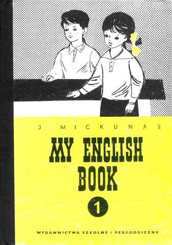 An old fashioned English course book.